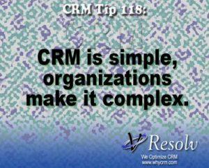 CRM is Simple